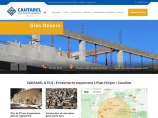 Cantarel maconnerie générale de construction de villa ou de maison et de rénovation