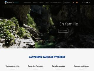 Canyoning dans les Pyrénées proche de Toulouse et en Espagne