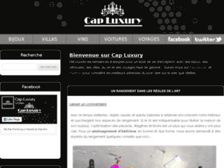Détails : Cap-Luxury, les nouveautés du luxe