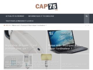 Cap75 : conciergerie, accompagnement informatique