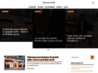 Détails : Boutique en ligne pour accessoires de mode.