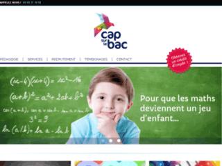 Capture du site http://www.capsurlebac.fr