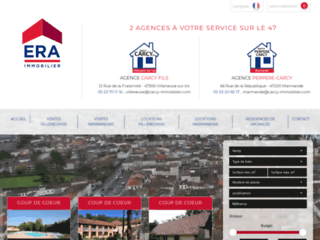 Carcy immobilier agences immobili res for Agence immobiliere 47