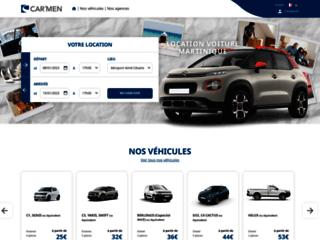 Location voiture aéroport Martinique - Car'Men