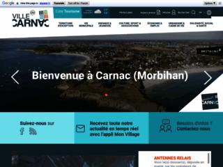 Office de tourisme et mairie de Carnac