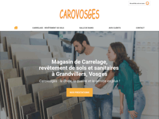 Carovosges - magasin de carrelage