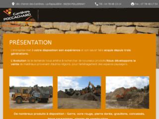 Poccachard carrières de sable et de granulat Rhône