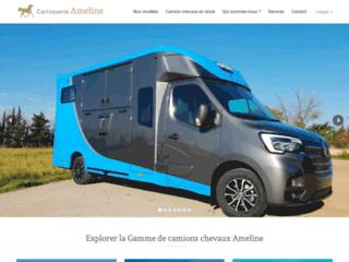 Détails : camion para caballos