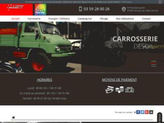 Carrossier camion à Valenciennes