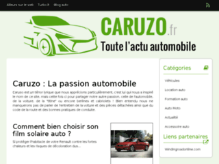 Sellerie automobile et Tuning : Caruzo.fr