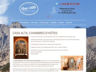 Vizzavona, chambres d'hôtes Casa Alta
