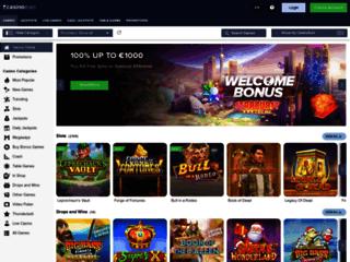 accueil du casino euro