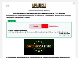 Casino Gustschein Codes vous propose des codes promos pour jouer en ligne