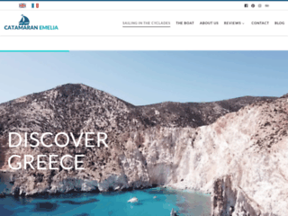 Croisière en catamaran en Grèce