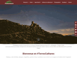 cathares.org : voyage virtuel en Terres Cathares