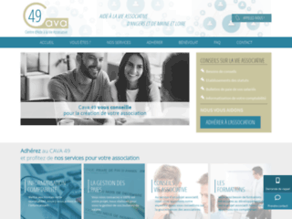 Cava49 Centre d'aide � la vie associative de Maine-et-Loire