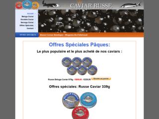 variétés de caviar