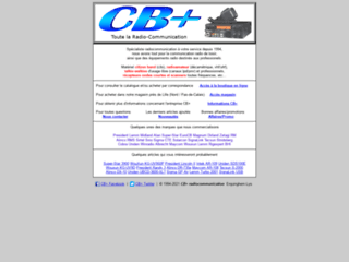 CB+ radiocommunication
