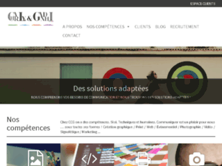 Capture du site http://www.ccg-charlygandhi.com