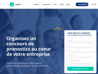 ccup.io est le concours de pronostics aux couleurs de votre entreprise. Organisez un concours !