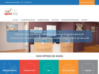 Détails : Centre de santé de l'APAS BTP