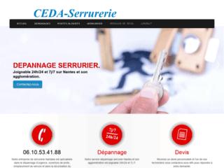Détails : Ceda-serrurerie : dépannage porte blindée à Nantes
