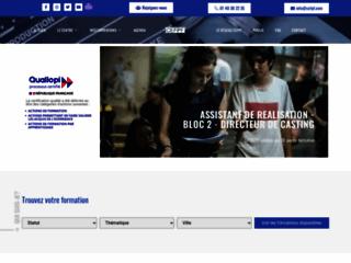 Capture du site http://www.cefpf.com/