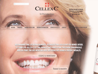 Site Officiel Cellex-C France - Numéro 1 des anti rides à la vitamine C