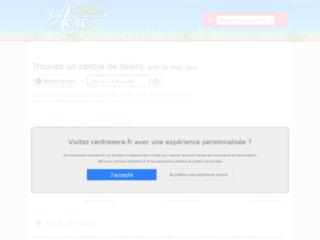 Aperçu du site CentreAéré.fr