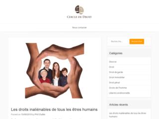 Cercle de droit, votre meilleur site d'information juridique