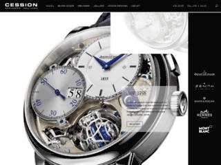 Cession: Haute horlogerie Belgique