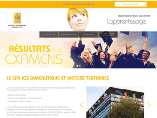 Détails : Le site CFA IGS Lyon