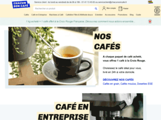 cafés et machines à café expresso