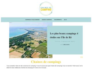 Les chaines de camping en France