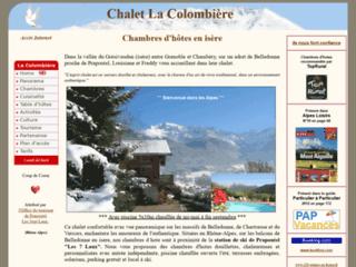 Chalet La Colombière - Chambres d' hotes sur les balcons de Belledonne