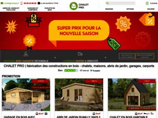 Site officiel de Chalet pro