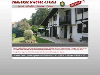 Chambres d'hôtes Garcia à Urrugne au Pays Basque