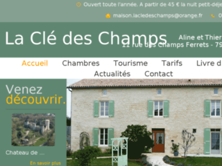 La Clé des champs - Chambres d'hotes 79 Deux Sevres Niort Poitou Chare