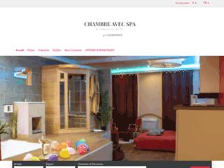 Chambre avec spa privatif dijon