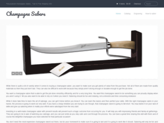 Quick Guide To Improve Your Sabering Skills | Champagne Sabres