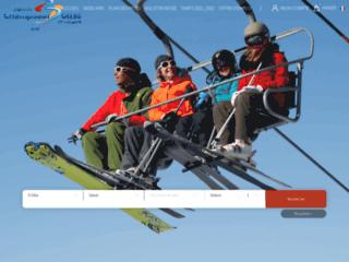 week end ski hautes-Alpes: 1 forfait 3 domaines skiables Hautes-Alpes Champsaur