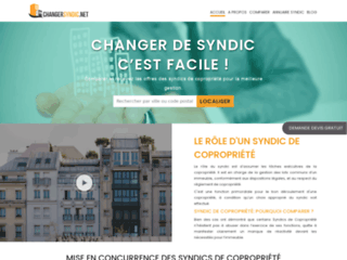 Comparatif Syndic