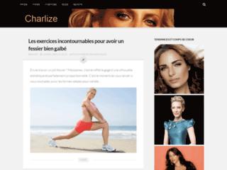 Aperçu du site Charlize