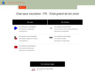 Chat-sans-inscription.fr