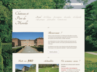 http://www.chateaudemerville.com/reception.html