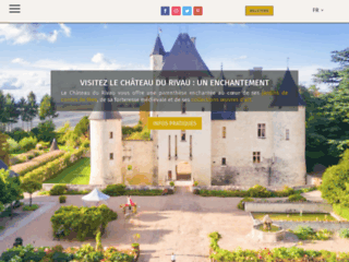 Le Château du Rivau - week end en amoureux et insolite au château médiéval en Touraine en Indre et Loire.