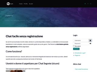 Chat gratis italiana - ChatFacile.org