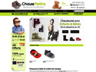Aperçu du site Chausspetons