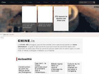 Capture du site http://www.chine-informations.com
