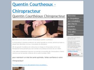 Cabinet Chiropratique Q Courthéoux sur http://www.chiro-pratique.fr